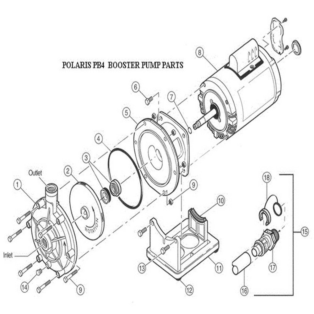 PB4-60 Booster Pump (Before November 30, 2011) image