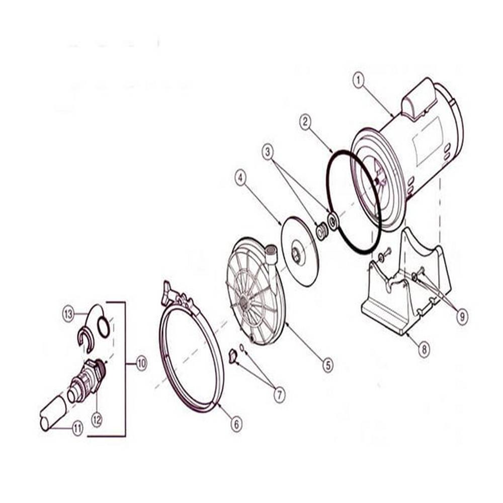 PB4-60Q Halcyon (Quiet) Booster Pump image