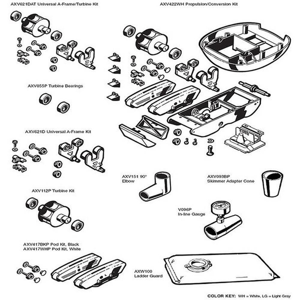 AquaDroid Elite Parts Kits image