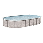 "Sharkline Venture 15 x 30 Oval 52"" Tall Above Ground Pool - Salt Friendly"