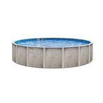 "Lomart Verona 24 Round 54"" Above Ground Pool"