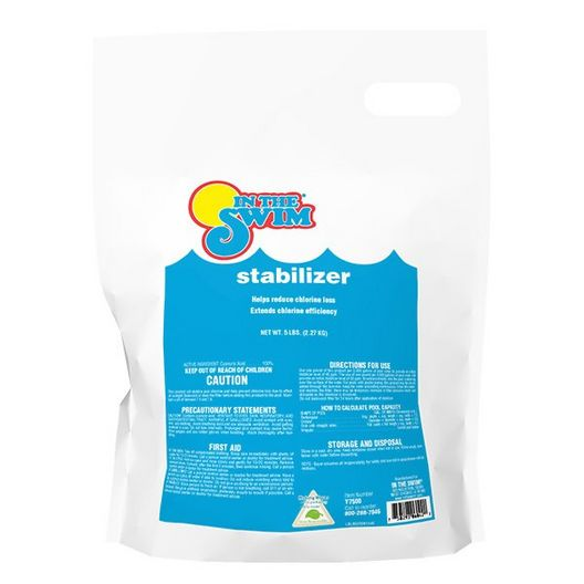 5 lb. Bag Cyanuric Acid - Chlorine Stabilizer