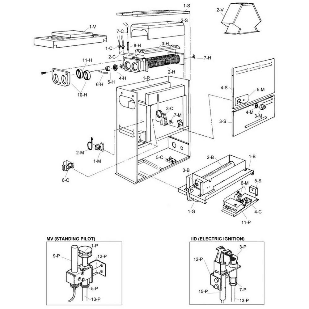 Raypak Heater 055 Series - 055A Heater image