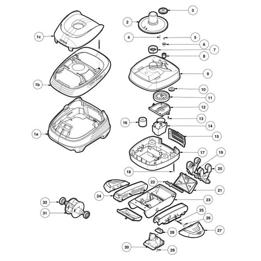 Pool Vac XL Pool Cleaner Parts image