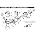 Hayward - Power-Flo LX Series SP1580, SP1520UN, SP1680 Above Ground Pool Pump Parts - a2d5883a-62bf-40e6-9220-462f123aa2eb