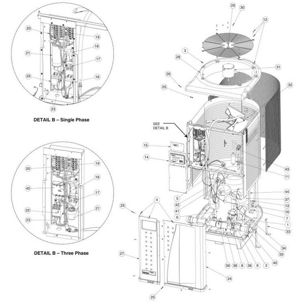 Pentair Heat Pump UltraTemp Heat Pump image