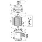 Hayward - SwimClear Models: C2030, C3030, C4030, C5030 & C7030 Cartridge Filter Parts - a670728e-4acc-4586-abb8-a32edd4958a0