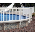 Premium 36in Resin Above Ground Pool Fence Kits
