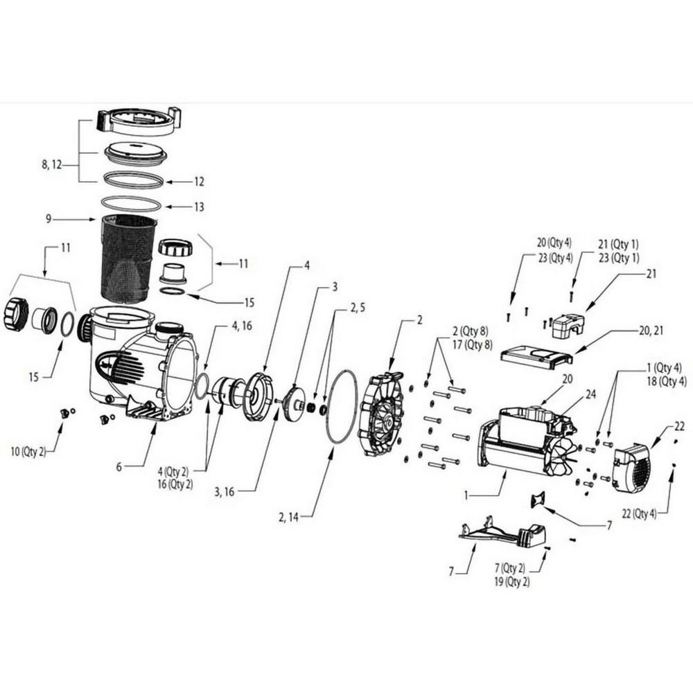 Jandy JEP ePump Series Pump image