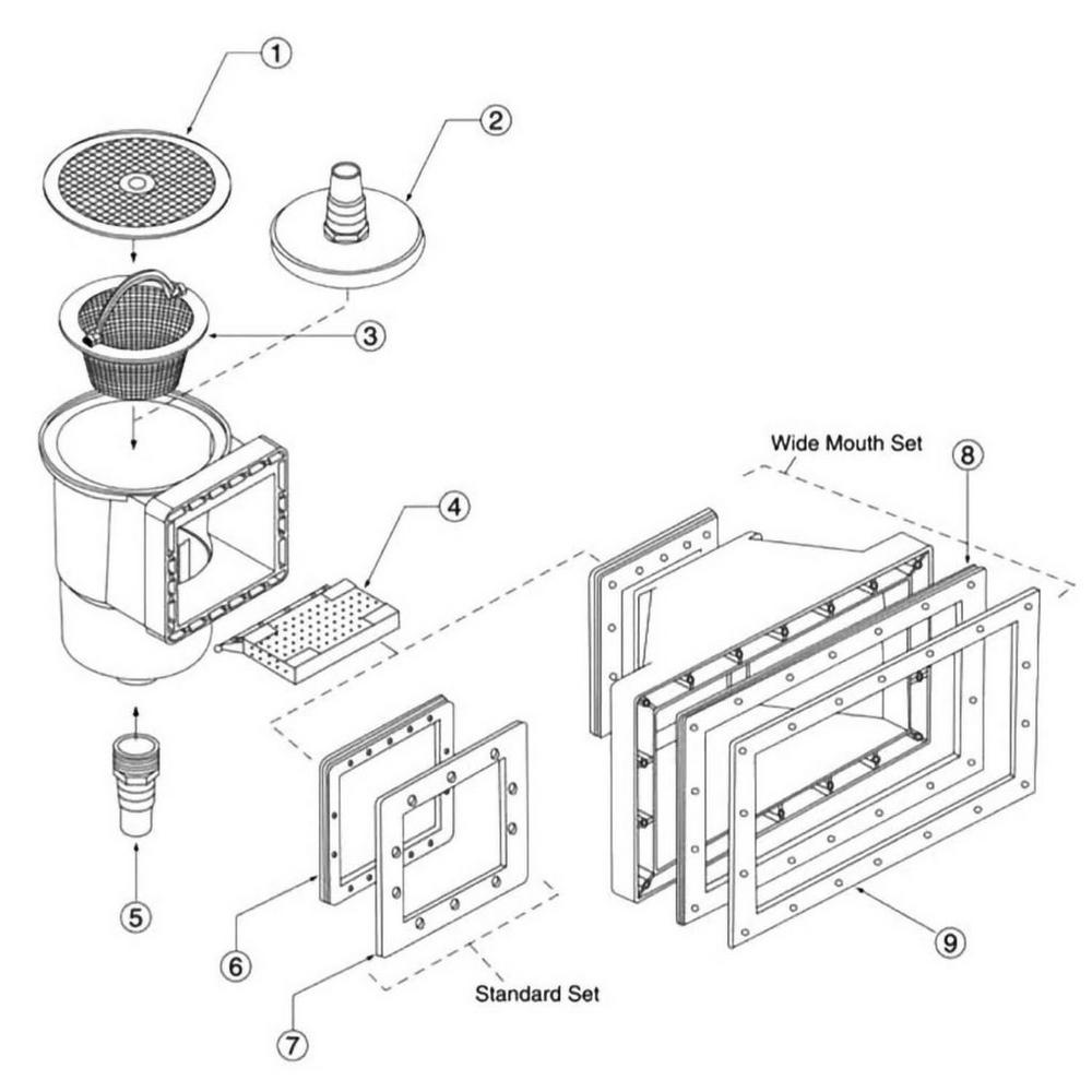 HydroSkim Skimmer Parts image