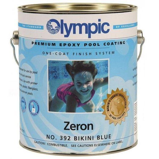 Kelly Technical - Olympic Zeron Epoxy Pool Paint 1 Gallon Blue Mist - 395GL - 313374