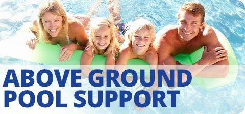 Above Ground Pool Support