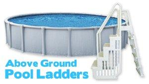 All About Above Ground Pool Ladders heading image