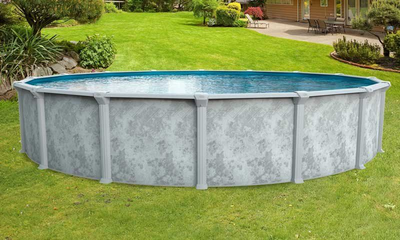 Image of a round pool.