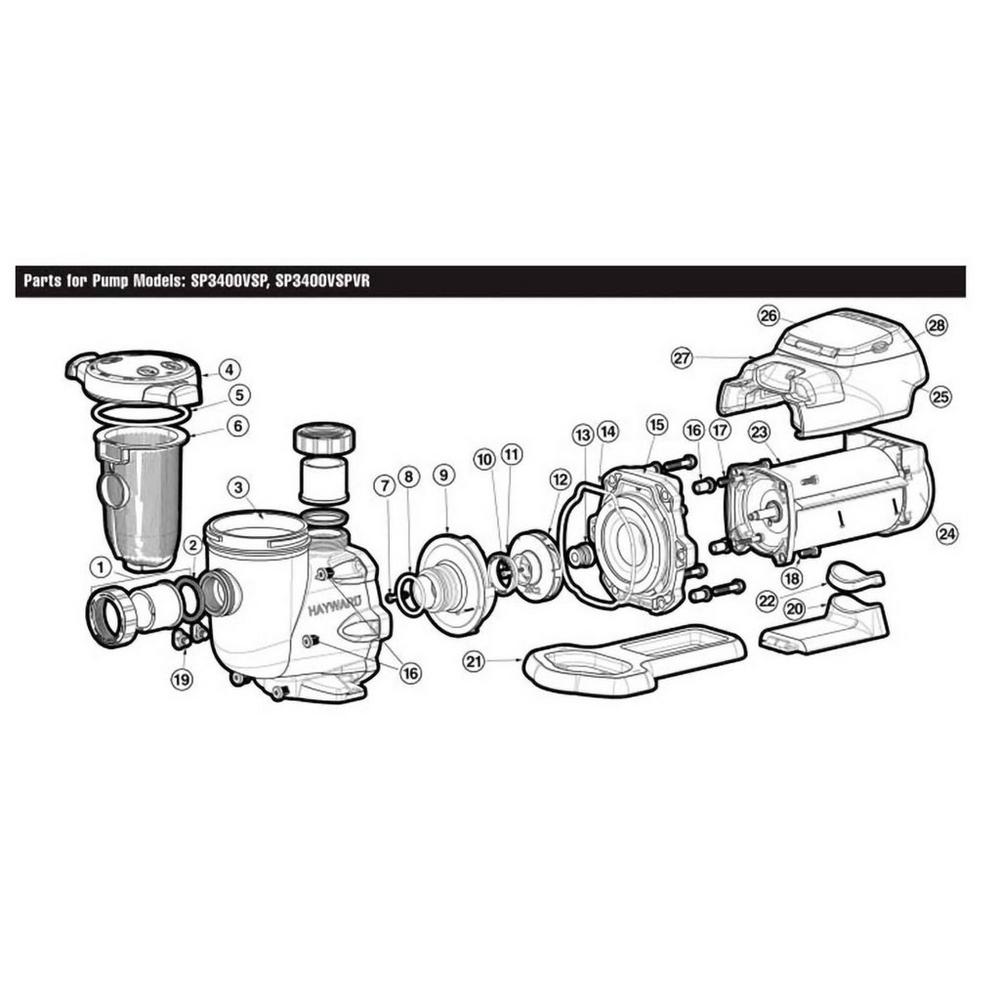 Hayward EcoStar SP3400 Series Pump image