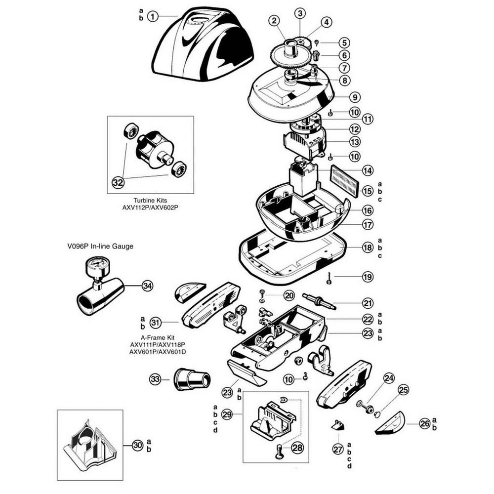 Navigator Pool Cleaner Parts image