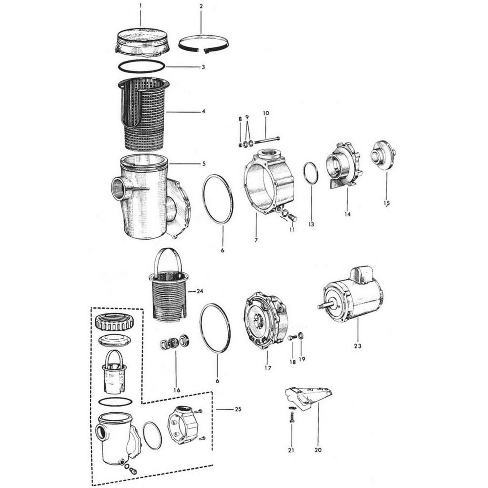 Jacuzzi PH & UPH Pump image