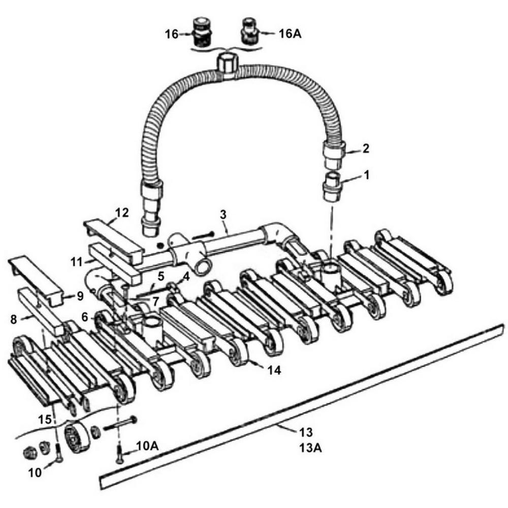 Pentair Super ProVac: Model 241 Vacuums & Leaf Traps image
