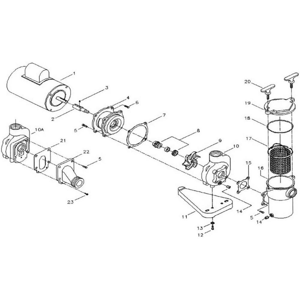 Aqua-Flo A Series Pump image