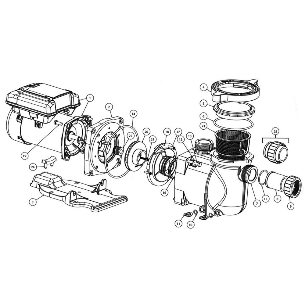 Pentair SuperFlo VS Pump image
