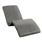 Destination Series In-Pool Lounger, Fashion Gray Polystone, DS-1-56