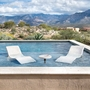 Destination Series In-Pool Lounger, Pebble Polystone