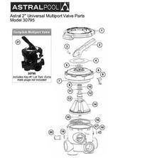 """Astral Multiport Backwash Valve 2"""" Multiport Universal #30795"""