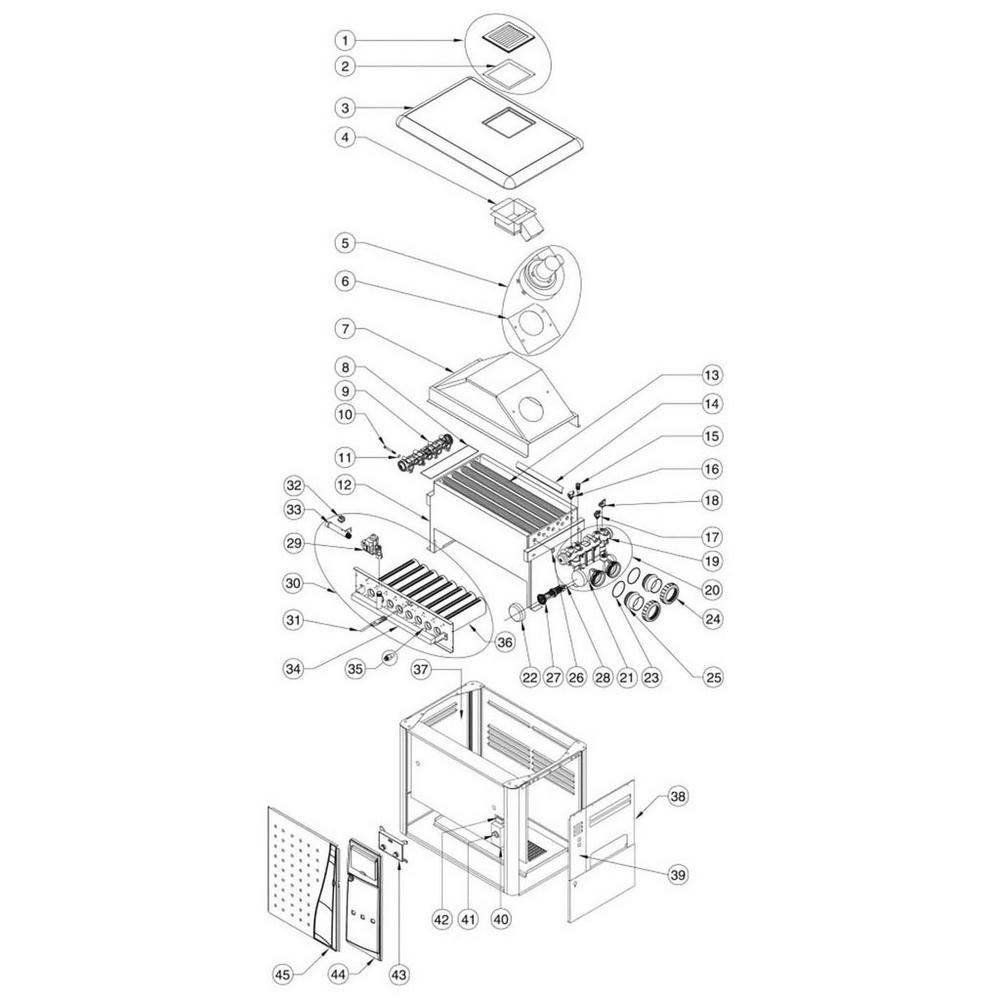 Pentair Heater MiniMax NT Series MiniMax NT LN: w/6800 Controller image