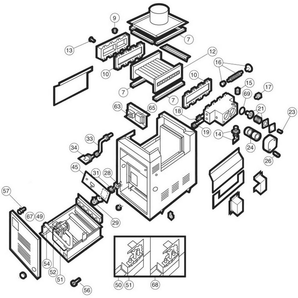Hayward Heater Heatmaster HM2 Models 150-400 Heater image