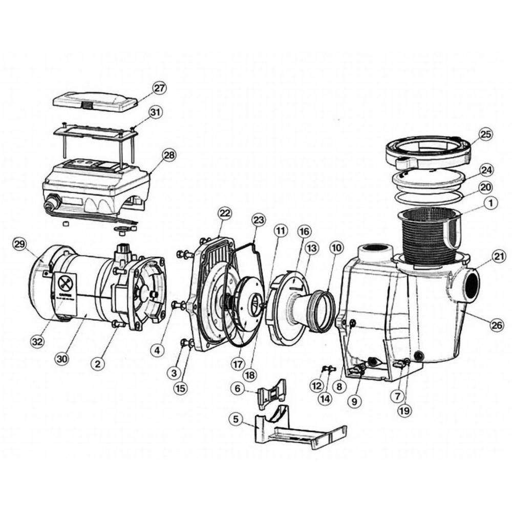 Pentair IntelliFlo VS 3050 & VS + SVRS Pump image