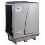 125,000 BTU, 230V, Titanium, Danfoss Compressor, Digital, Pool and Spa Heat Pump (Almond)