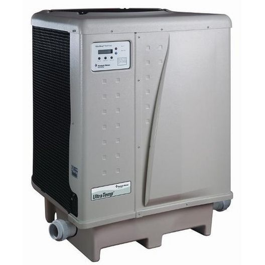 125,000 BTU, 230V, Titanium, Danfoss Compressor, Digital, Pool and Spa Heat Pump (Almond)