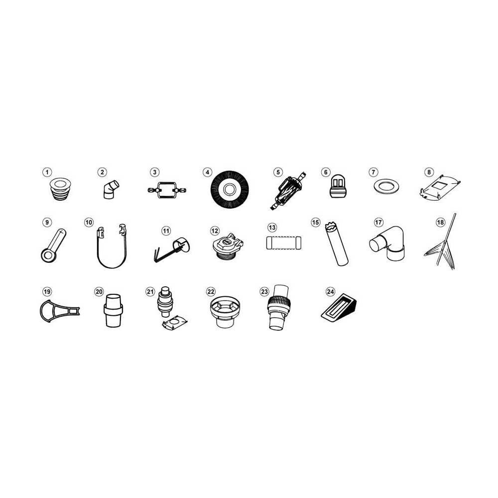 Pentair Kreepy Krauly Hoses & Accessories 1994 to Present image