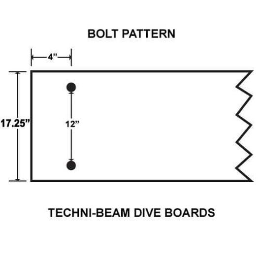 Inter-Fab  Techni-Beam Replacement Diving Boards