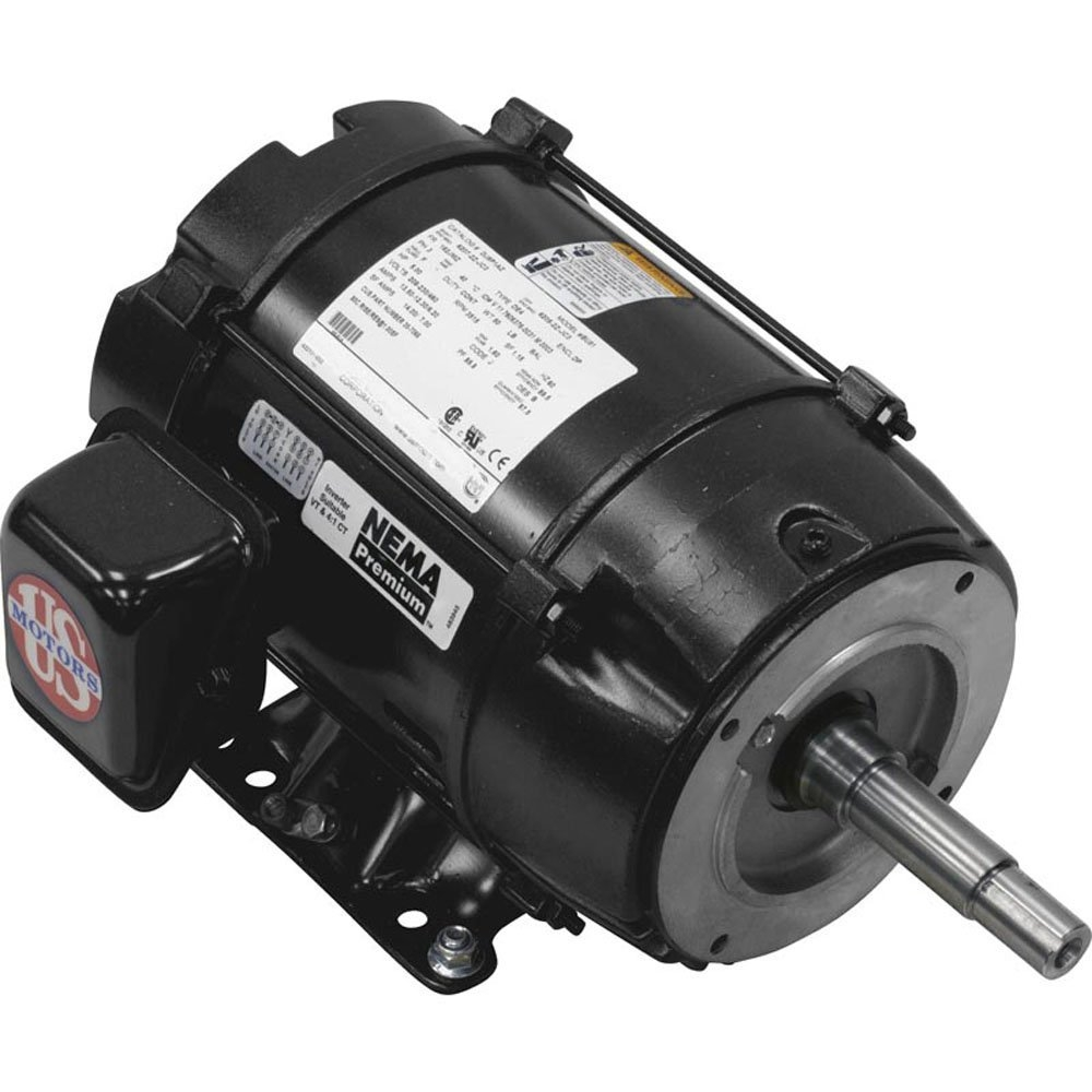 Emerson / US Motor Replacement Pump Motor for Pentair EQ Series image