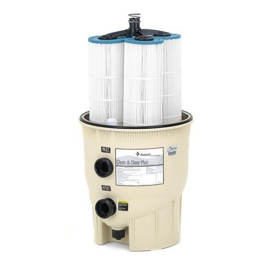 Clean and Clear Plus Cartridge Filters for Inground Pools