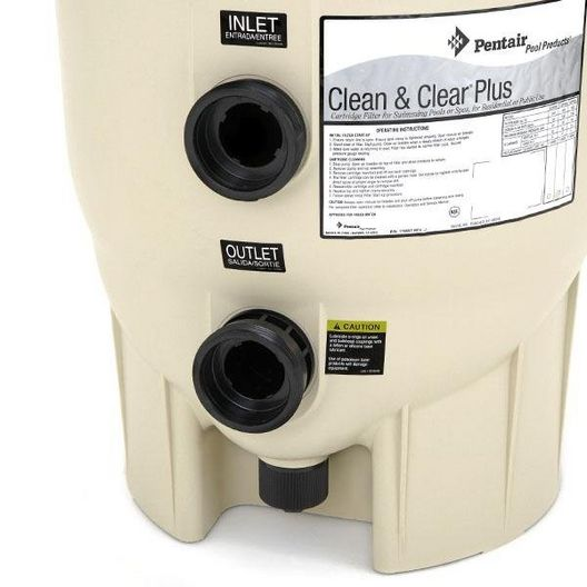 Clean and Clear Plus CCP520 520 sq. ft. In Ground Pool Cartridge Filter
