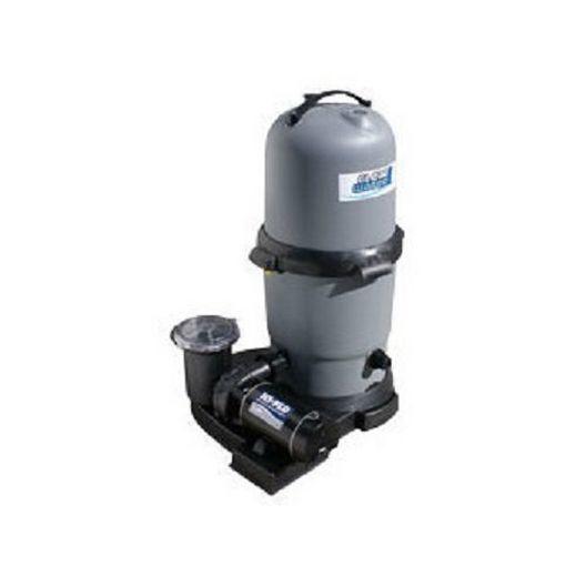 ClearWater II 100 sq ft Cartridge Filter & 1.5HP Single Speed Pump Combo