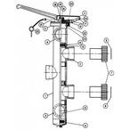 Slide Backwash Valve Baker Hydro Vertilever - dbd1569e-d7d8-40e4-83e6-02a088fc1b7f