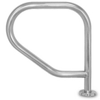 """SPA1900-SS Single Spa Rail with Tubing 1.9"""" OD x .049"""" Wall Thickness"""