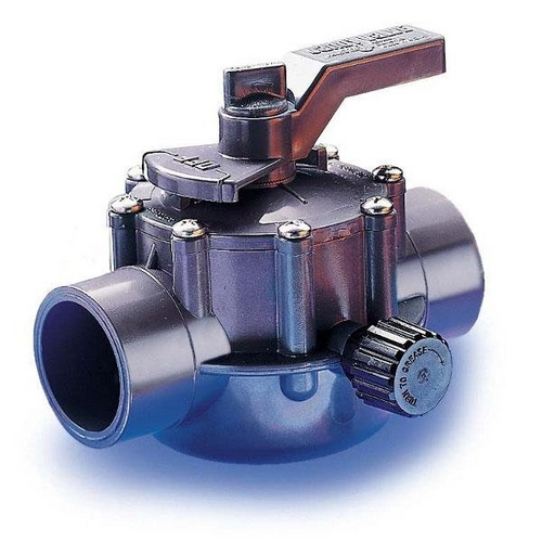 Jandy - Gray Two Port Valve 1 1/2in.-2in. Positive Seal