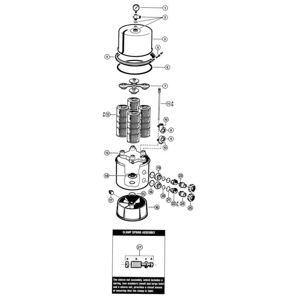 Hayward Super Star-Clear Stainless Tank image