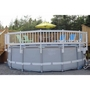 Resin Above Ground Pool Fence Kit, 2 Sections