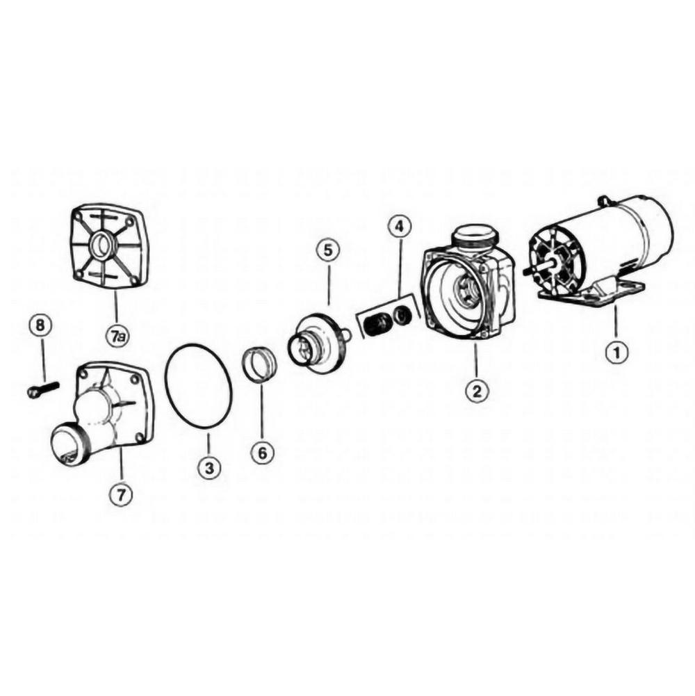 Jacuzzi K & KM Series Pump image