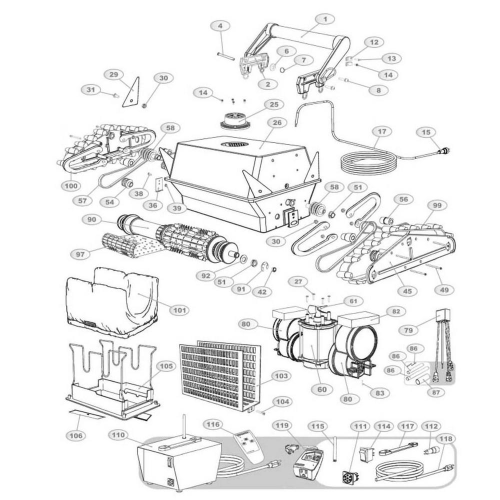 Aqua Products Aquabot, Aquabot Plus & Aquabot Plus RC image