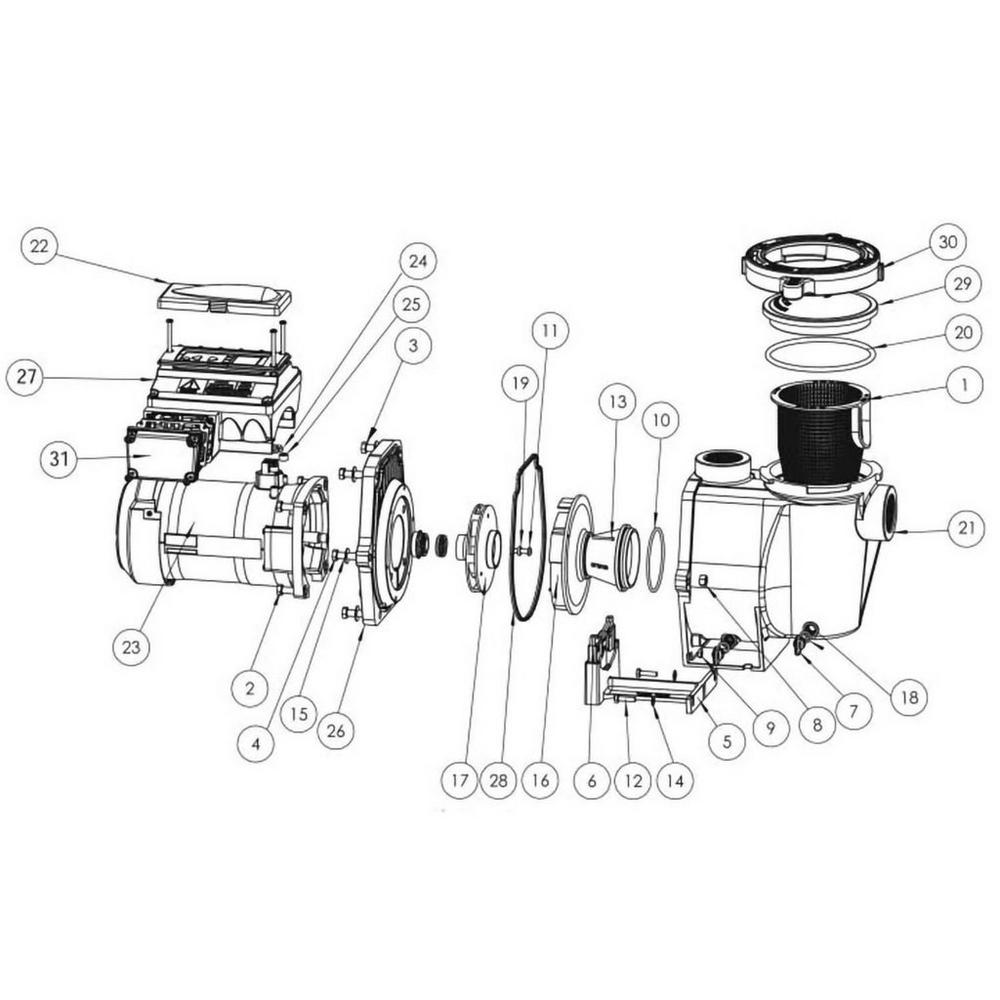 Sta-Rite IntelliPro Series IntelliPro VS + SVRS Pump image
