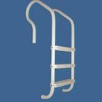 Saftron - 3 Step Elite In Ground Ladder, Gray - 366894