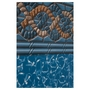 Unibead 21' Round Mystri Gold 52in. Depth Above Ground Pool Liner, 20 Mil