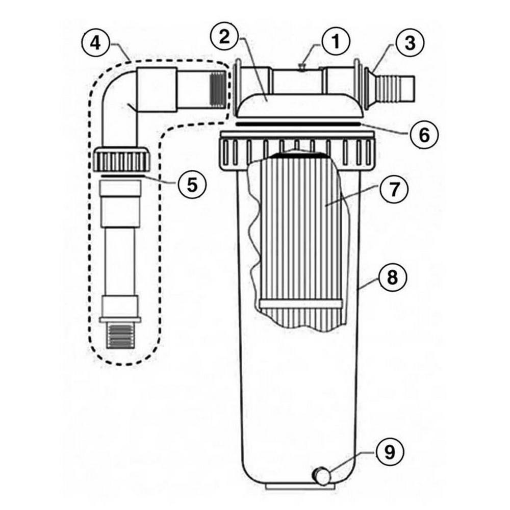 Pentair Predator II Mini-Cellular Media Filter System image