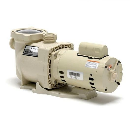 Pro Grade- SuperFlo 340039 Standard Efficiency 1-1/2HP Single Speed Pool Pump - Premium Warranty